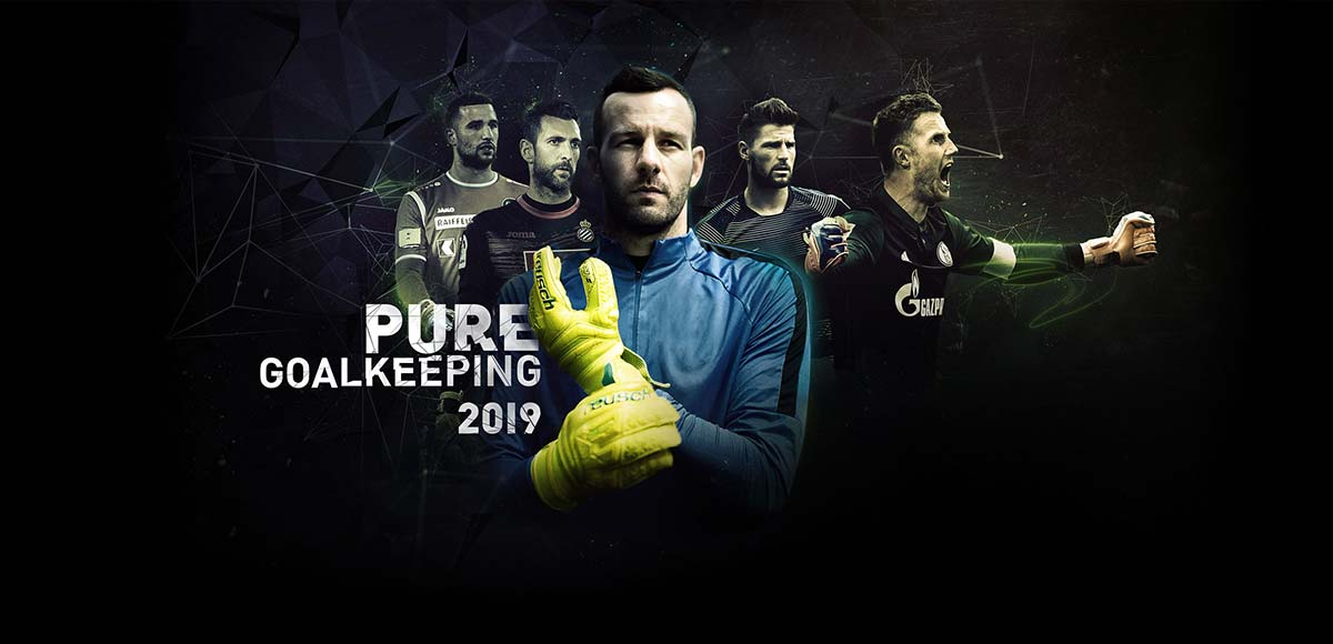 reusch PURE GOALKEEPING 2019