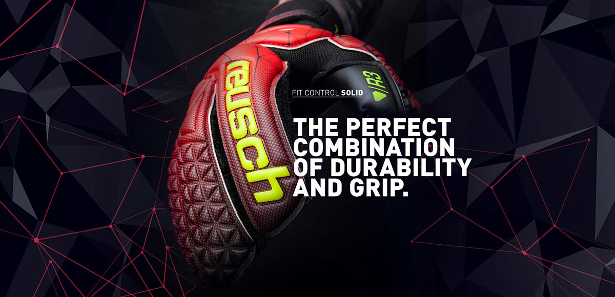 THE PERFECT COMBINATION OF DURABILITY AND GRIP.