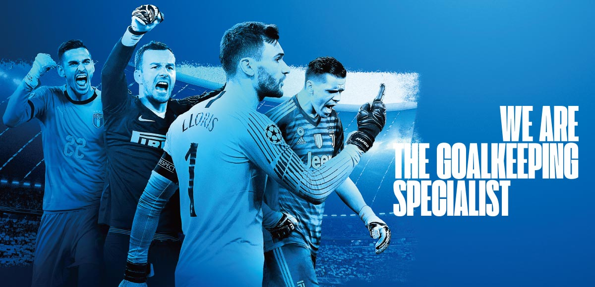 WE ARE THE GOALKEEPING SPECIALIST