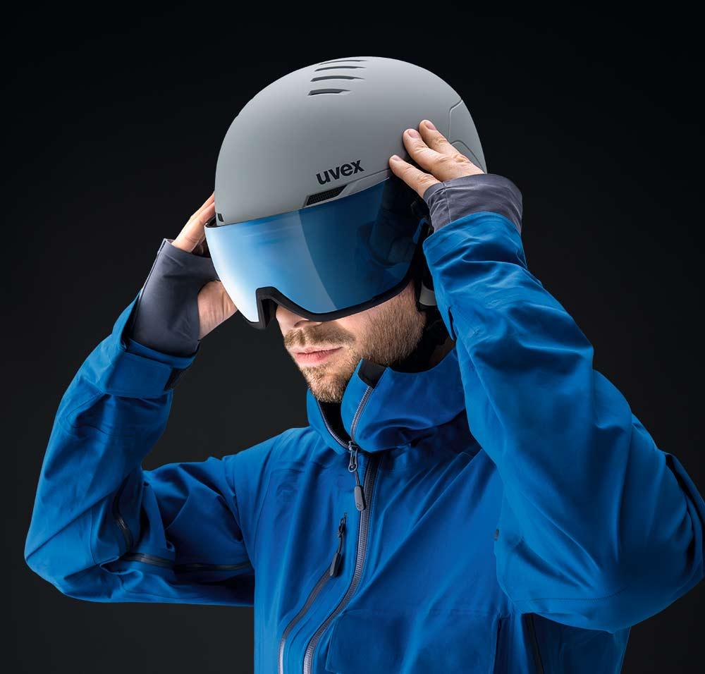 uvex wanted visor